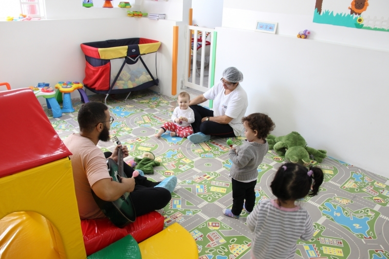 Berçário 2 Metrô São Judas Preços Conjunto Residencial Sabará - Escola Berçário em São Paulo