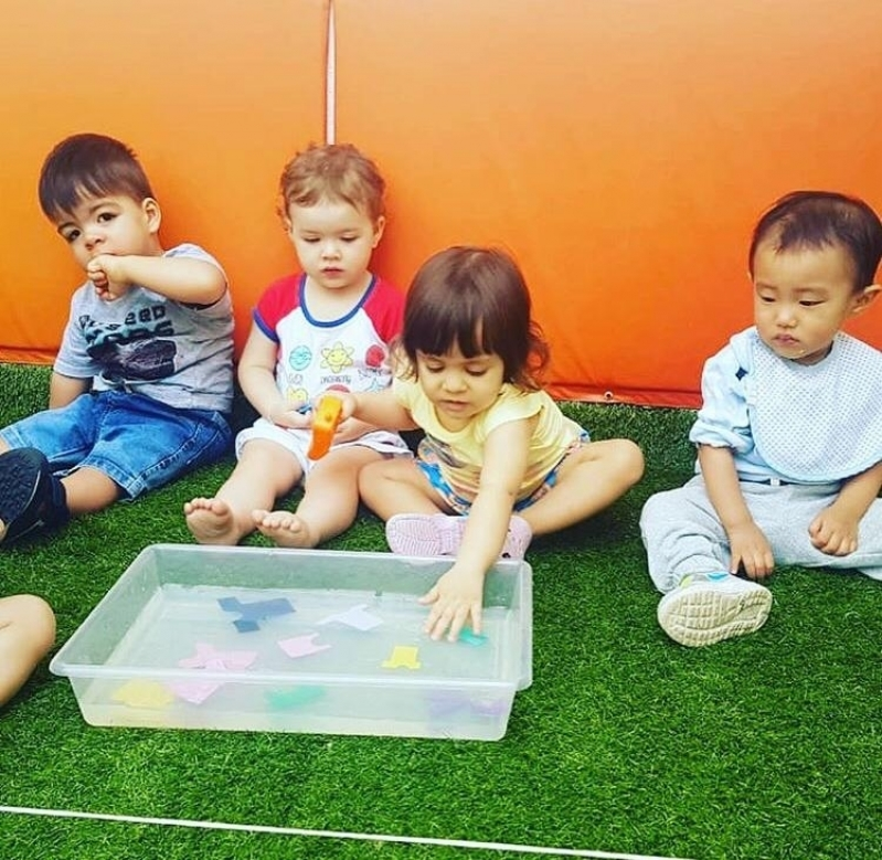 Escola Berçário Privada Jardim Novo Mundo - Berçário Creche Abc