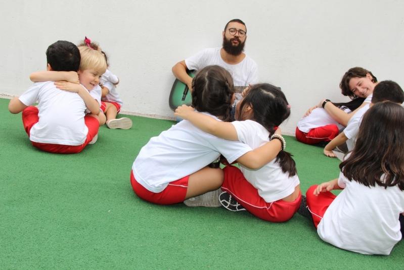 Escola de Ensino Infantil com Música Preços Conjunto Residencial Sabará - Escola Infantil Particular