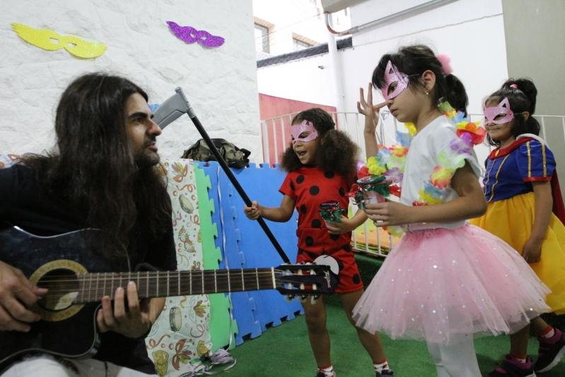 Escola de Ensino Infantil com Música Saúde - Escola Bilíngue Infantil