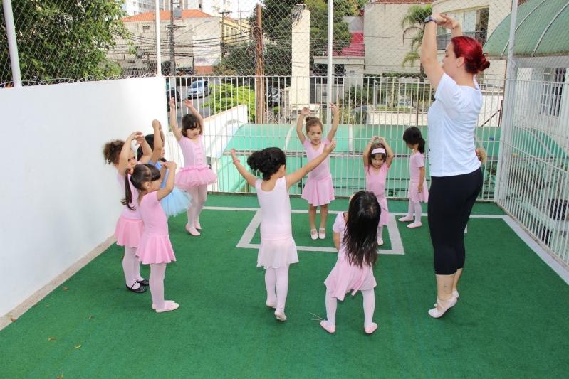 Escola Infantil com Ballet Preços Jardim Luzitânia - Escola Infantil com Ballet
