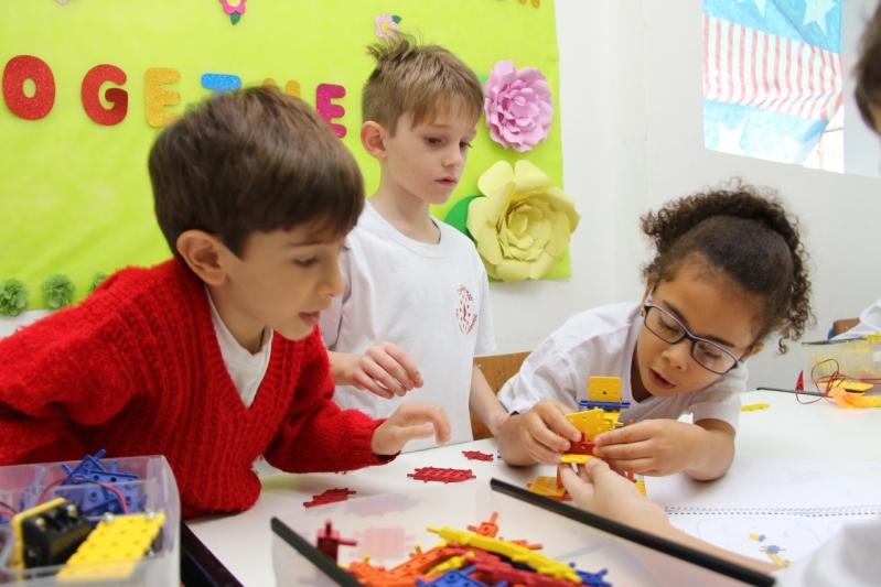 Escola Infantil Integral com Robótica Preços Santa Cruz - Escola Educação Infantil