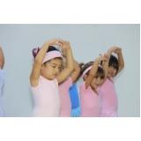 educação infantil com ballet valores Cursino