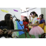 escola de ensino infantil com música Água Funda