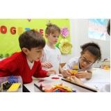 escolas particulares educação infantil no abc matrícula Vila do Bosque