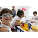 onde tem escola infantil integral com robótica Vila Noca